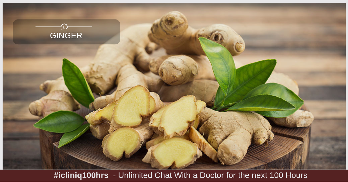 6 Ways in Which Ginger Is Good For Your Health