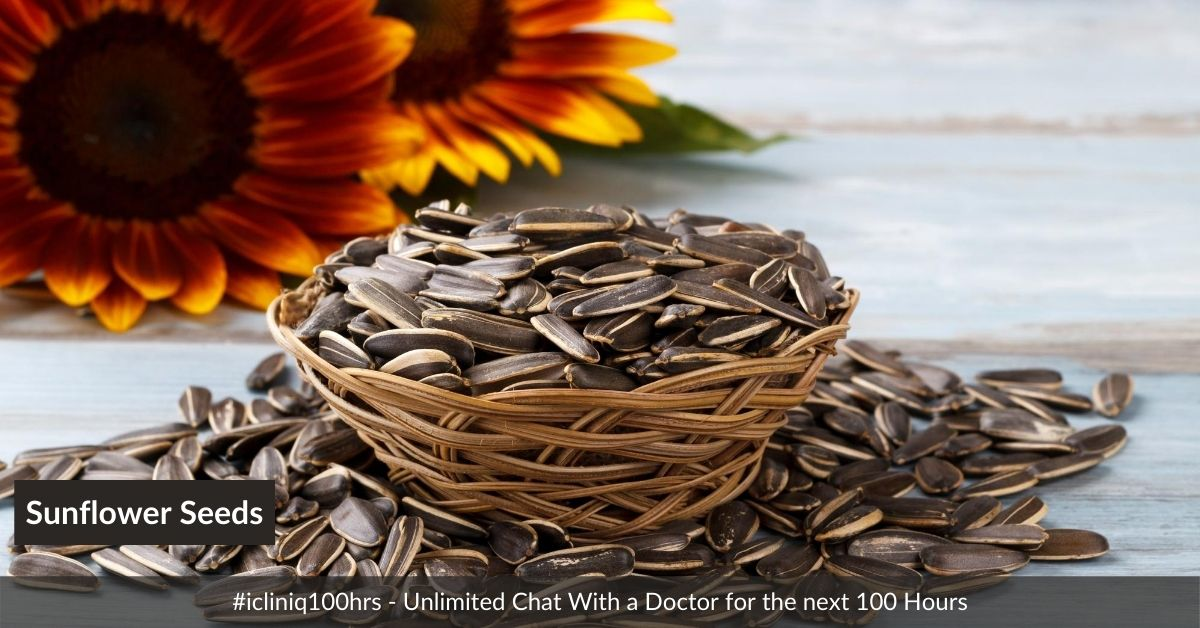 Amazing Benefits of Sunflower Seeds