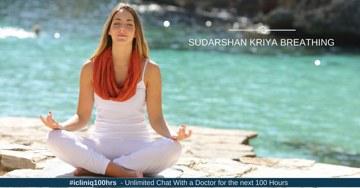 Benefits of Sudarshan Kriya Breathing Technique