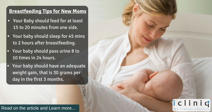 How to know whether your breast milk is sufficient for the baby?