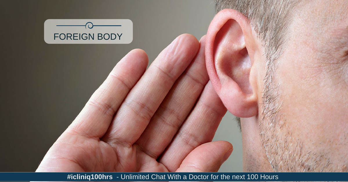 Dealing with Foreign Body Inside the Ears