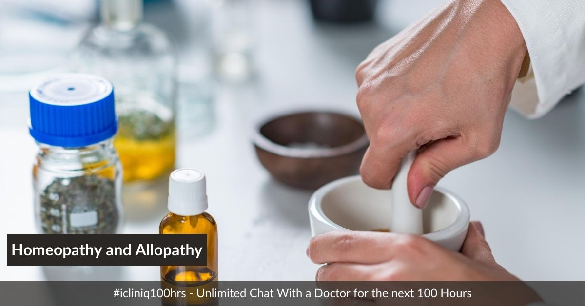 Difference Between Homeopathy and Allopathy