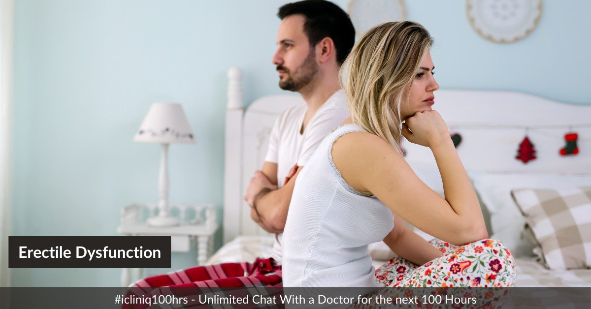Erectile Dysfunction: a Nightmare for Every Male