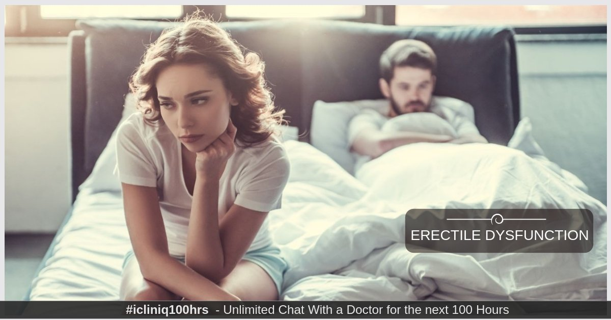 Erectile Dysfunction - Causes, Myths, and Facts