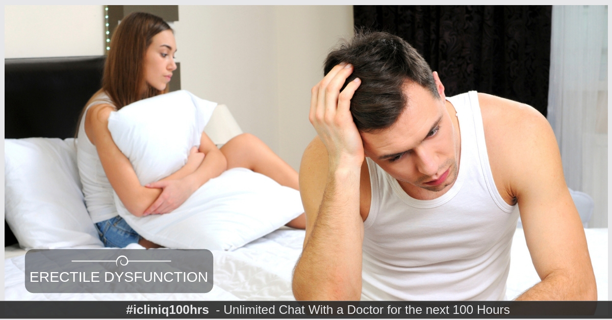 Everything You Need to Know About Erectile Dysfunction (ED)