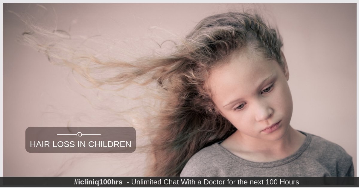 Hair Loss in Children - How to Treat It with Homeopathy?