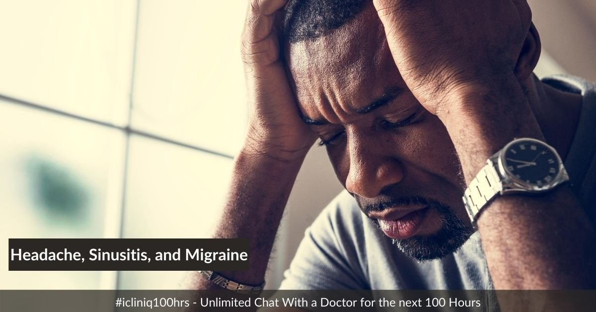 Headache, Sinusitis, and Migraine - an Approach to Diagnosis