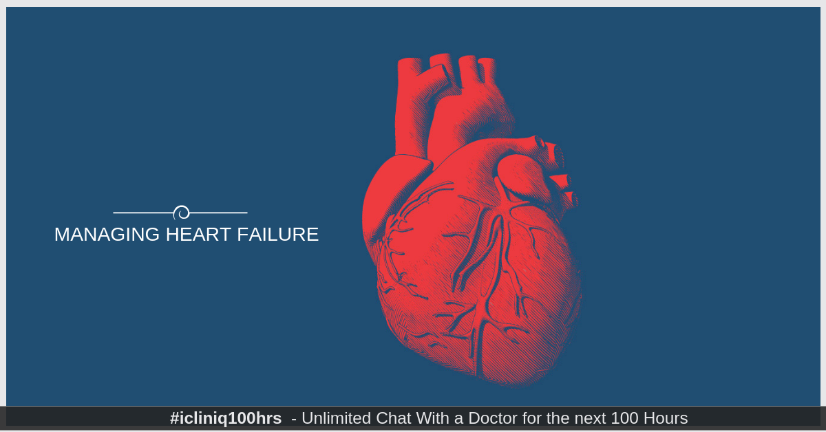 Causes and Management for Heart Failure
