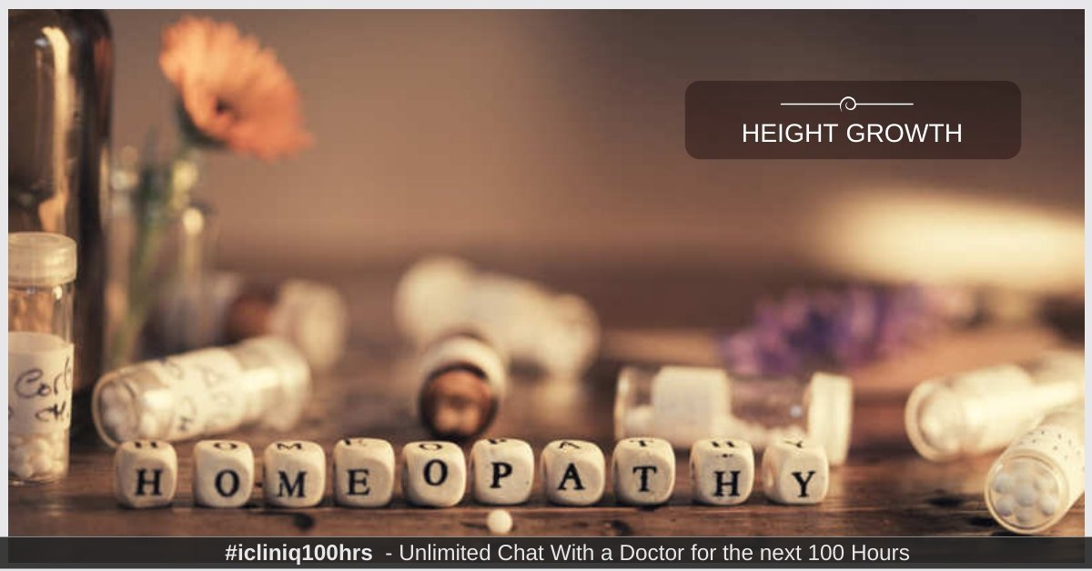 Height Growth and Homoeopathy - Myths and Facts