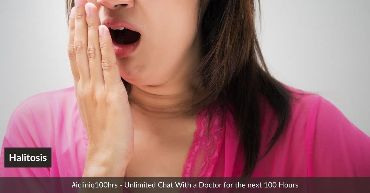 Homeopathic Medicines for Halitosis (Bad Breath)