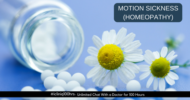 Homeopathic Remedies for Motion Sickness