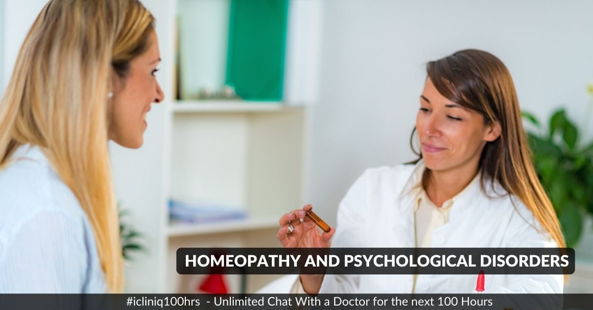 Homeopathy and Psychological Disorders