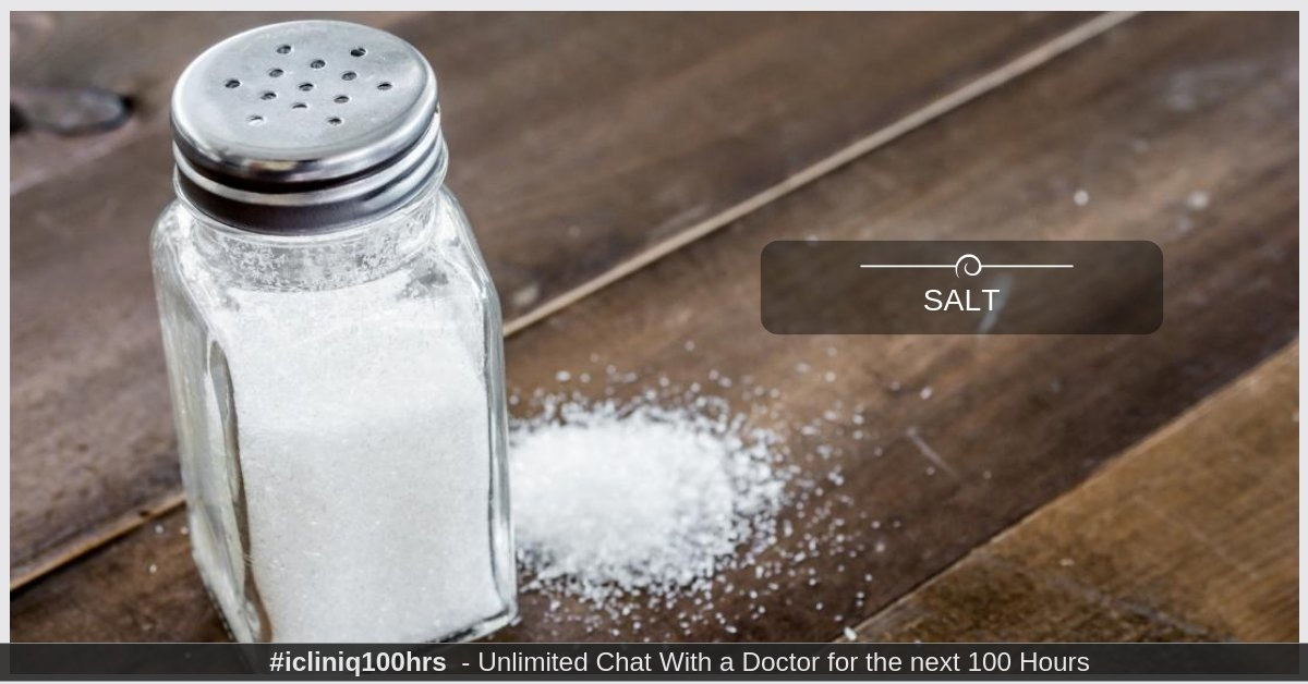 How Much Salt Should One Person Have?
