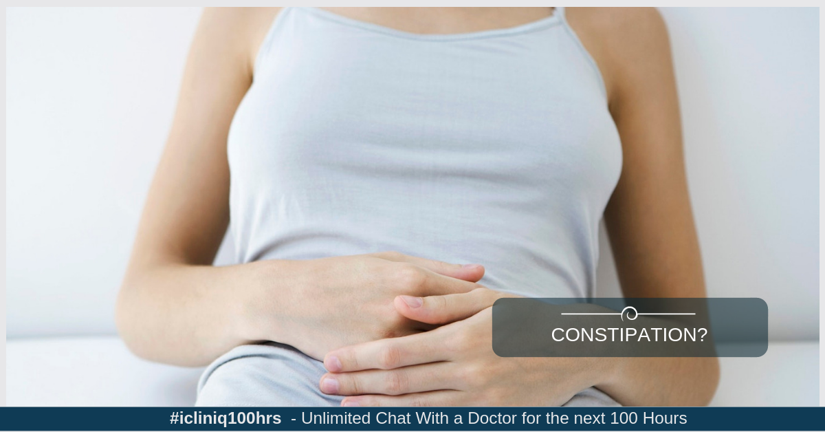 How to Avoid Constipation?