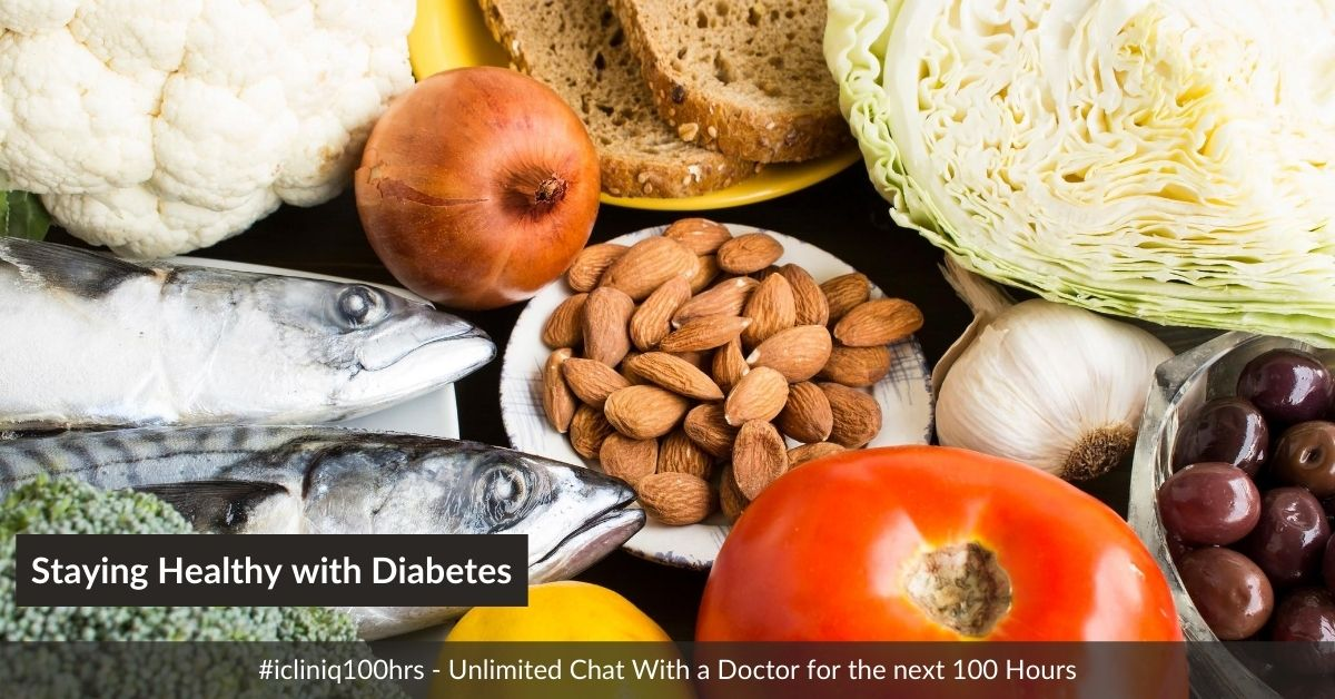 How to Stay Healthy with Diabetes?