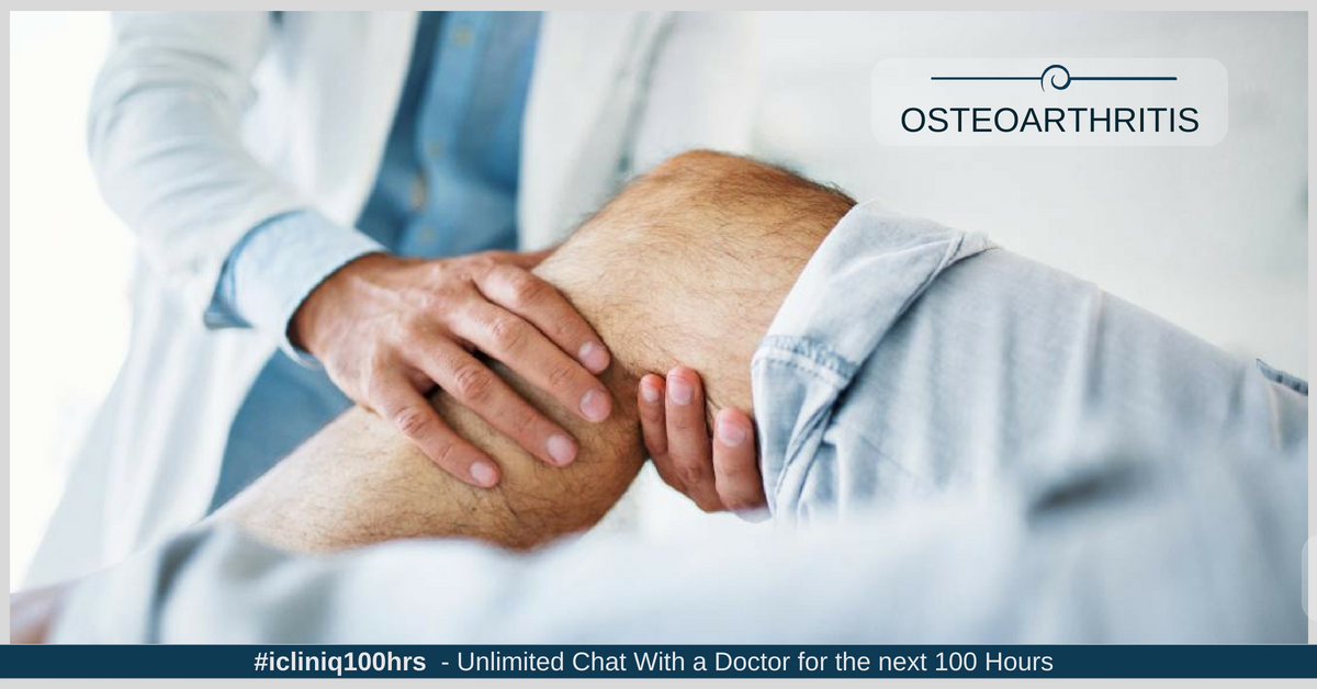 Knee Pain in Old Age - Osteoarthritis