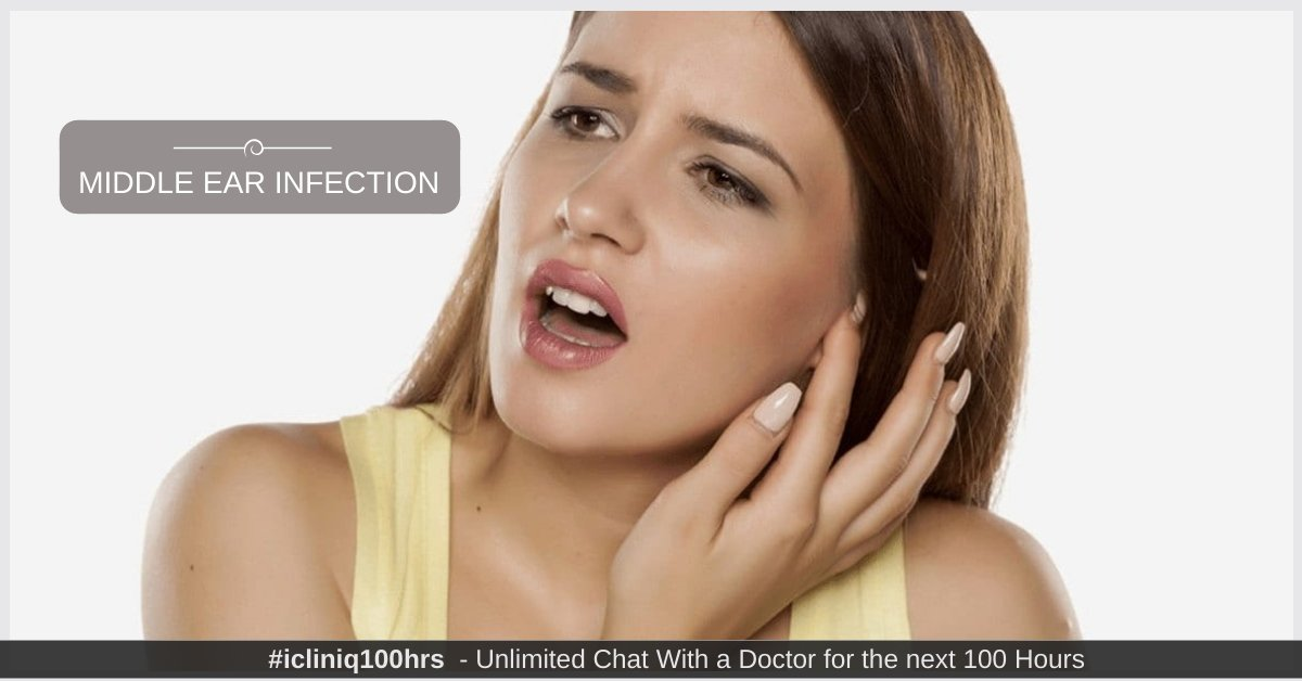 Middle Ear Infection (Adults) - Types, Symptoms, Causes, Diagnosis, Treatment, and Prevention