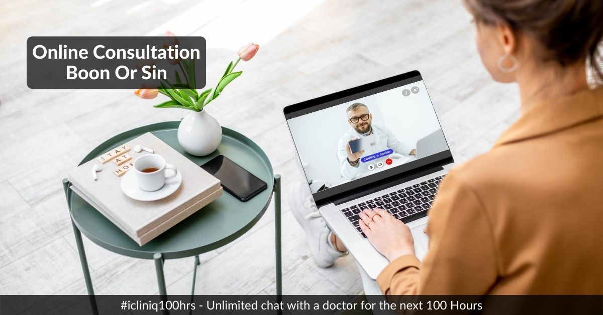 Online Doctor Consultation: Is It A Boon Or Sin?