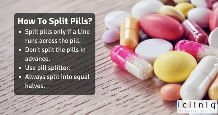 Pill Splitting Guidelines