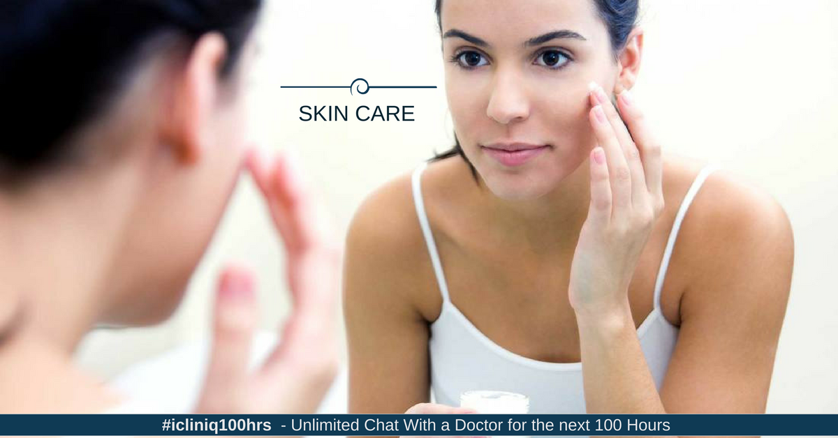 Skin Care and Use of Cosmetics in Acne Patients