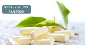 Supplements vs Natural Health Gainers