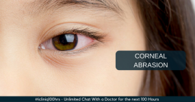 How to Relieve the Pain Caused by Corneal Abrasion?