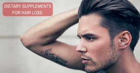 Dietary Supplements and Their Recommended Doses for Hair Loss