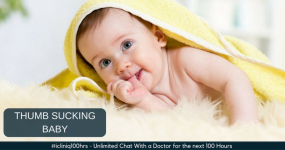 How to Prevent Thumb Sucking Habit of Infants?