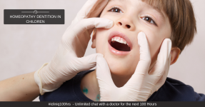 Homeopathy for Dentition in Children