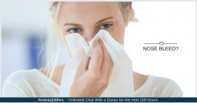 How to Stop Nose Bleeds?