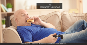 Sedentary Lifestyle Has the Same Impact on Your Heart as Smoking Does!!!