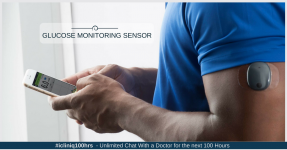 Continuous Glucose Monitoring Sensor