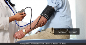 Do You Have Low Blood Pressure? Do Not Ignore.