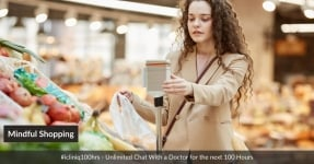 Mindful Shopping of Food in Grocery Stores