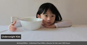 Nutritional Management Of Underweight Kids