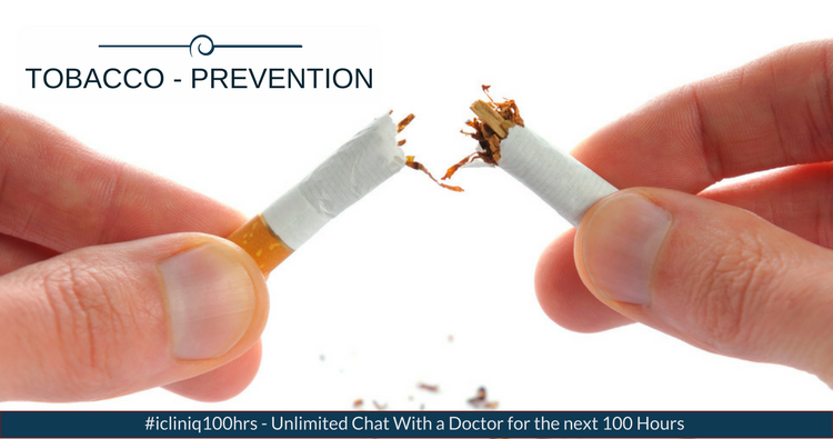 Tobacco - Prevention of Tobacco dependence