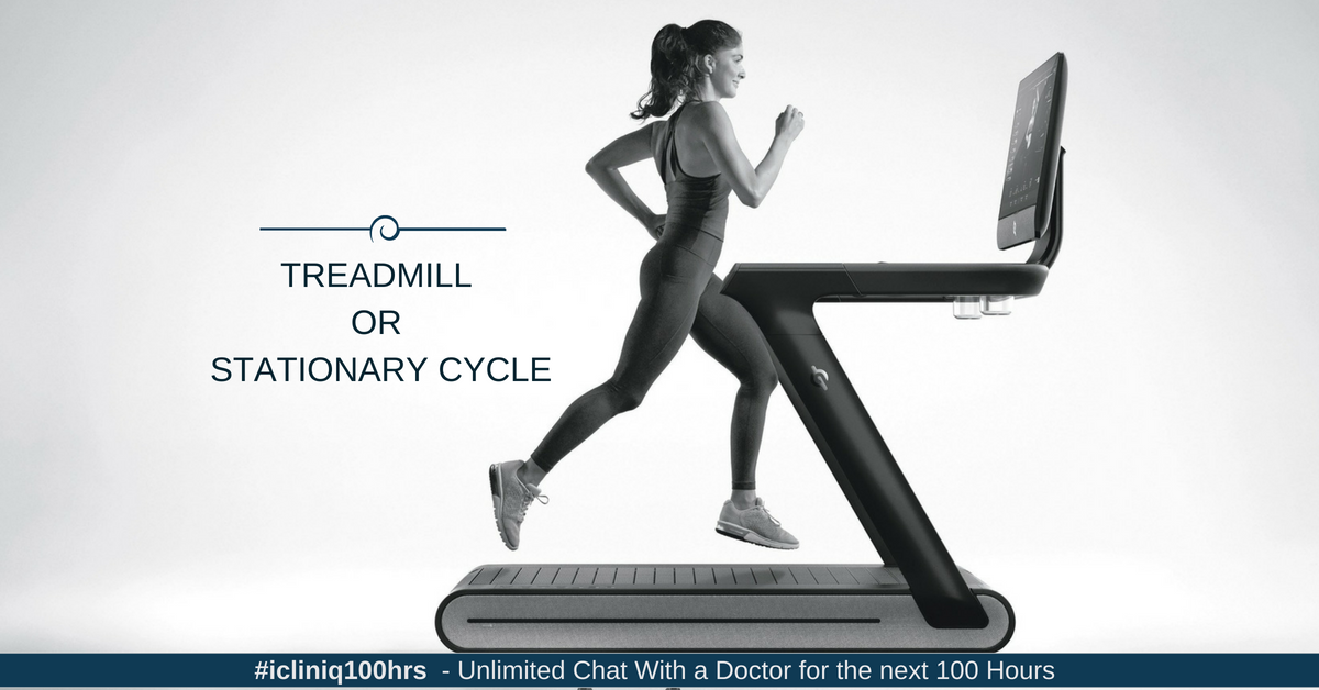 Treadmill or Stationary Cycle: Which Is Better for Aerobic Exercise?