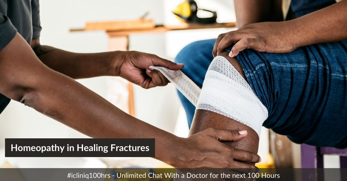 Use of Homeopathy in Healing Fractures