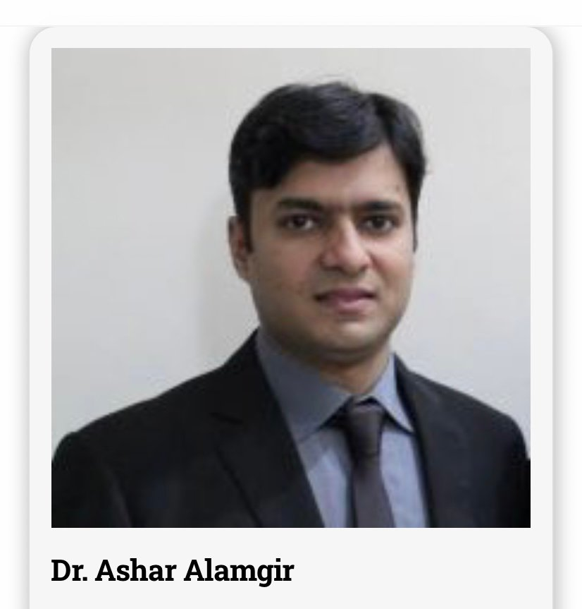 Dr. Ashar Alamgir