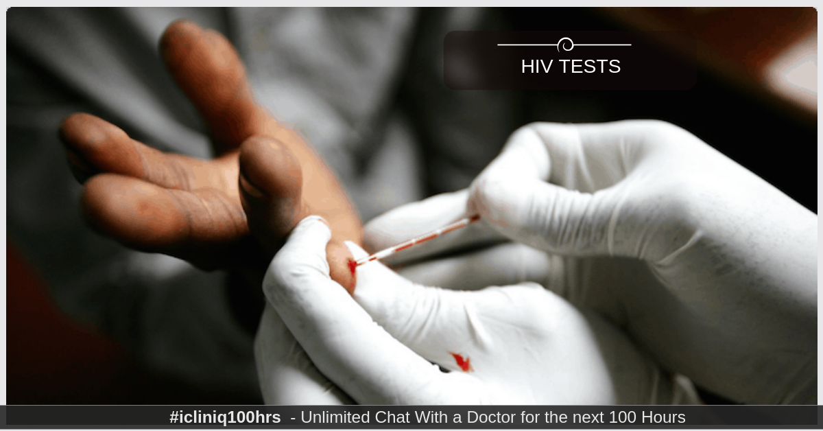 Are results of HIV tests with p24 conclusive after 28 days of exposure?