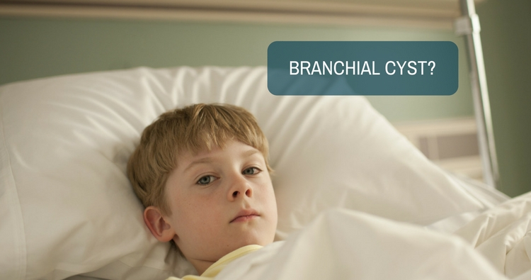At what age can surgery be done for a branchial cyst?