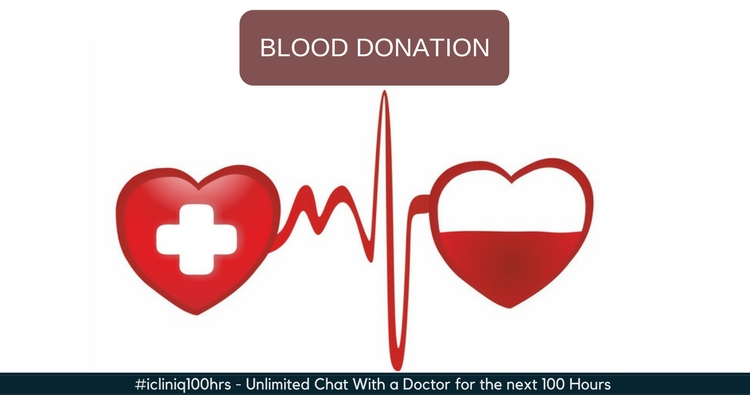 Can a person with high blood pressure donate blood?