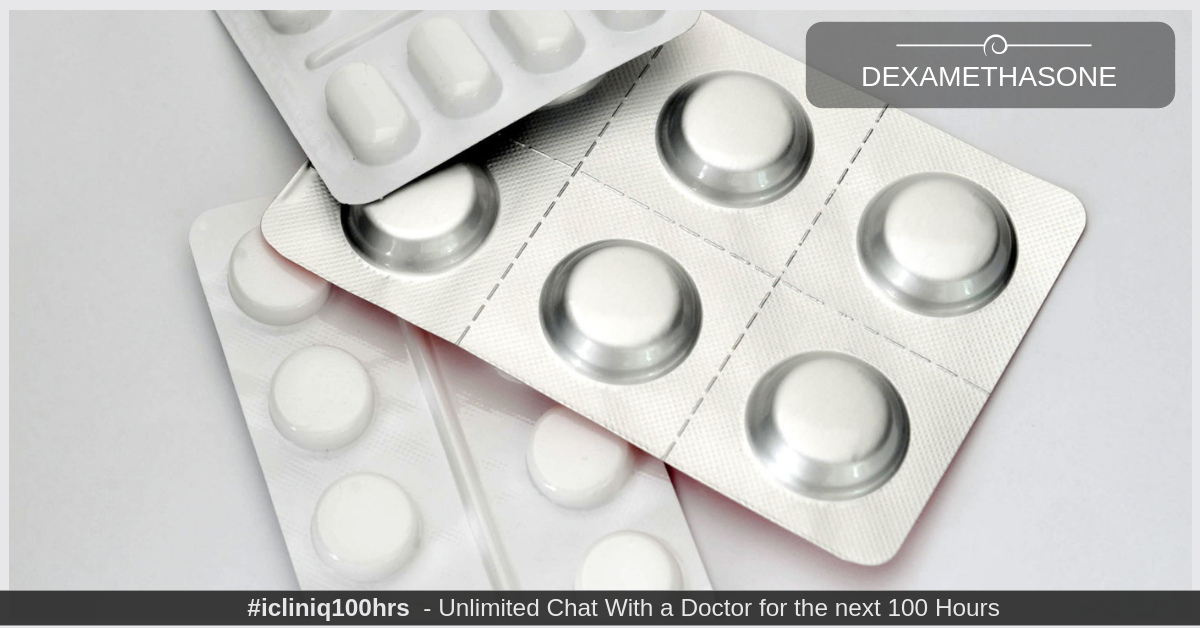Can reducing the dose of Dexamethasone cause liver problem?