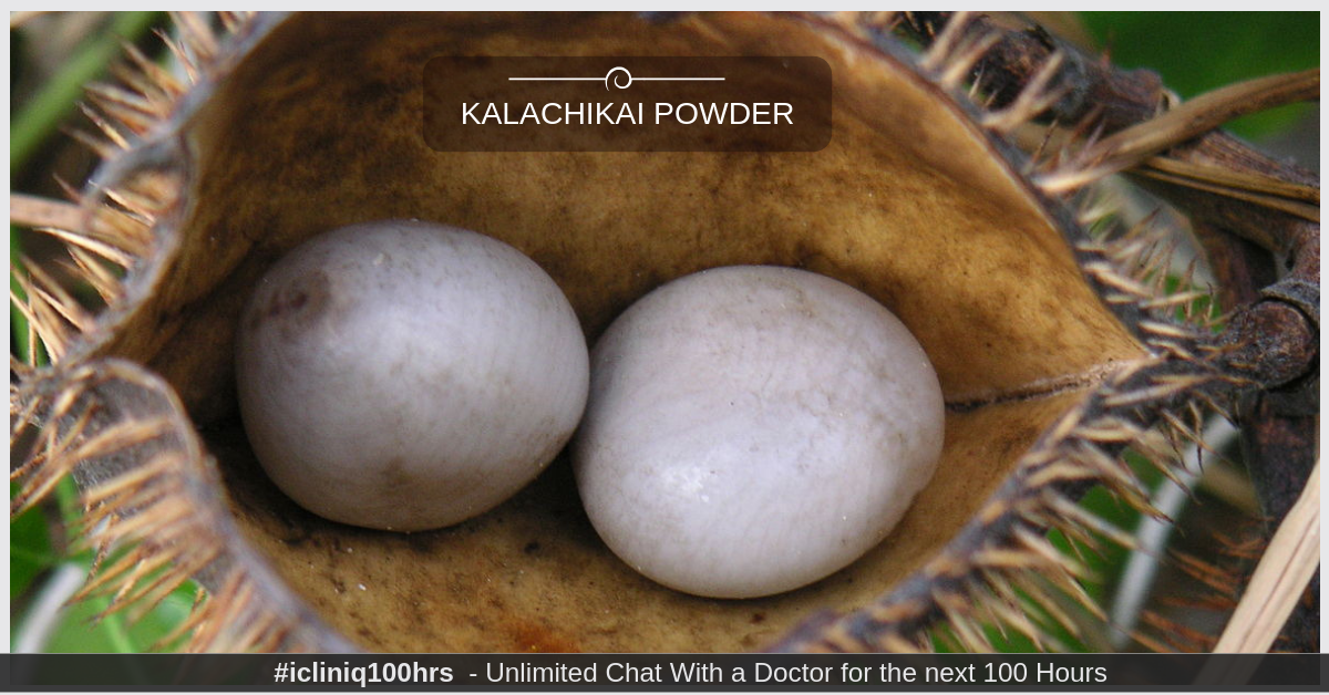 For how long should I take Kalachikai powder to overcome PCOD problem?