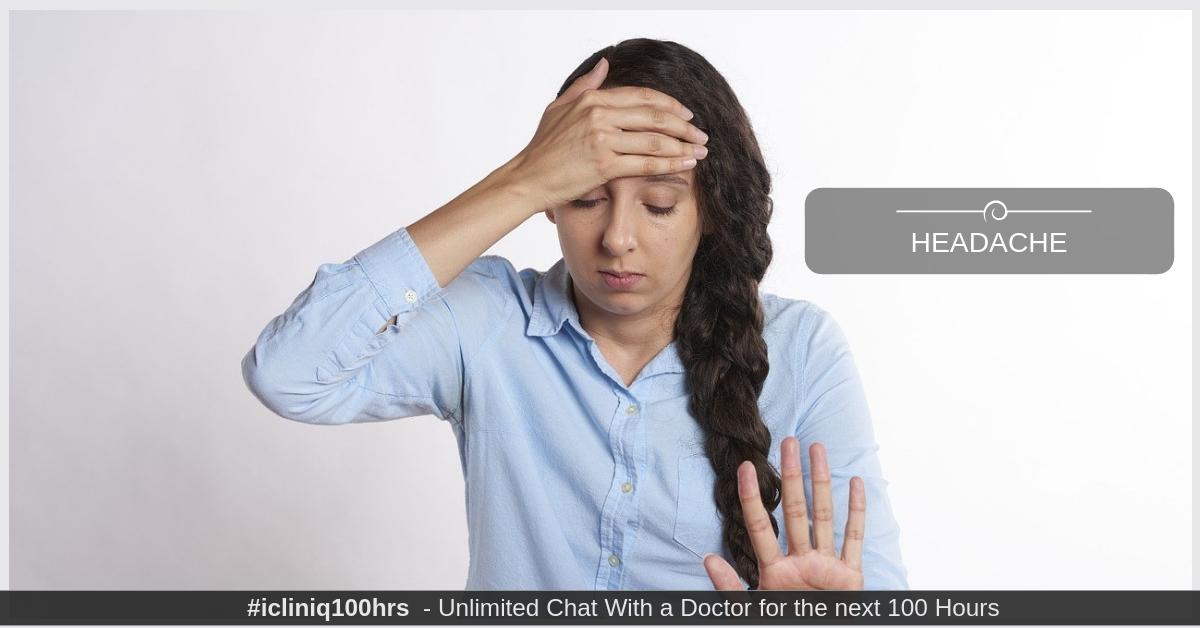 How can I differentiate normal headache and a migraine headache?