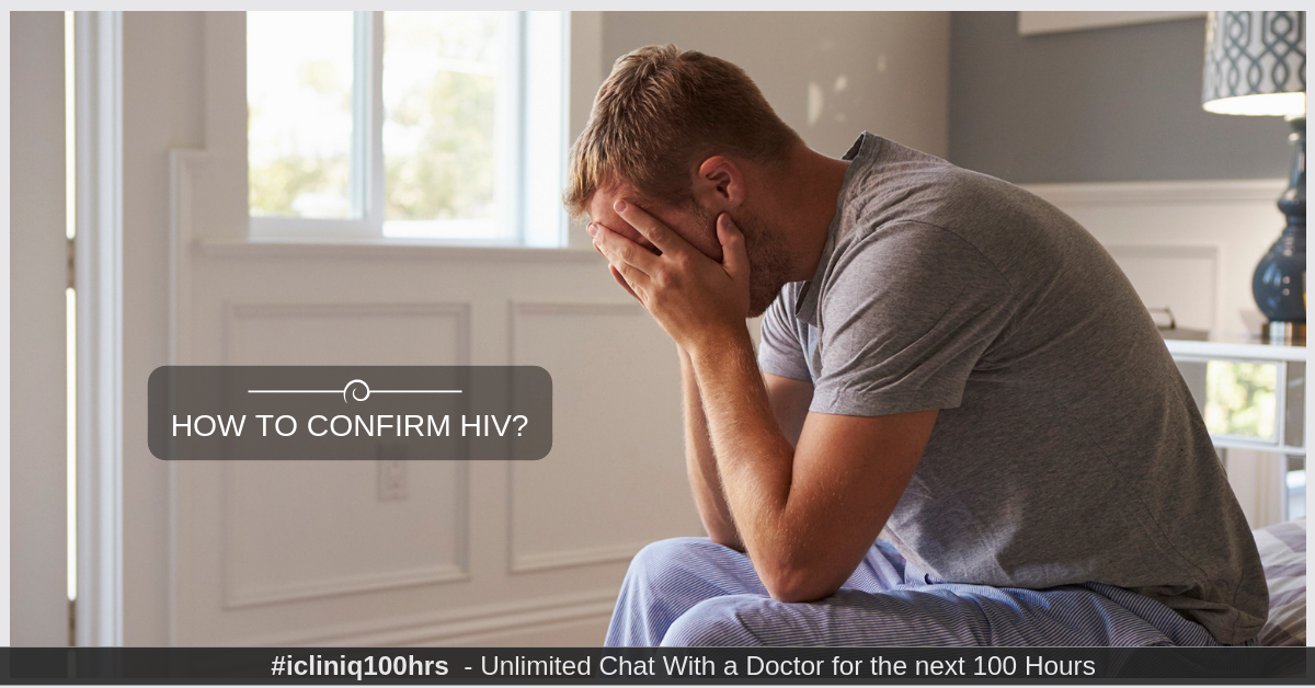 How to confirm HIV?