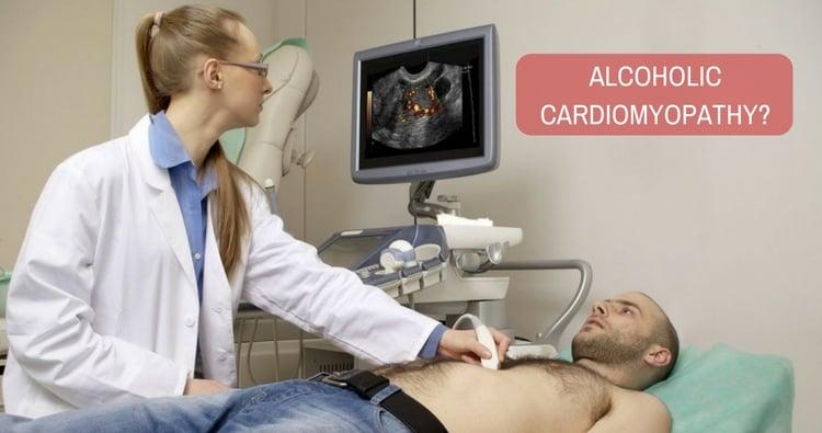 How to diagnose alcoholic cardiomyopathy?