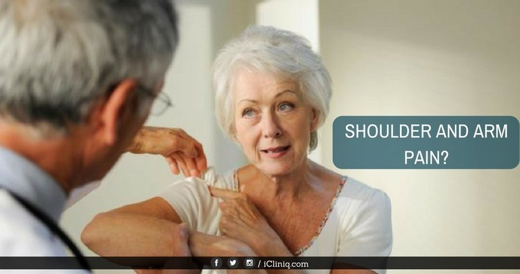 How to find the reason for shoulder and arm pain?