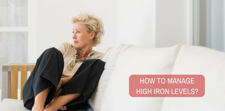 How to manage high iron levels?