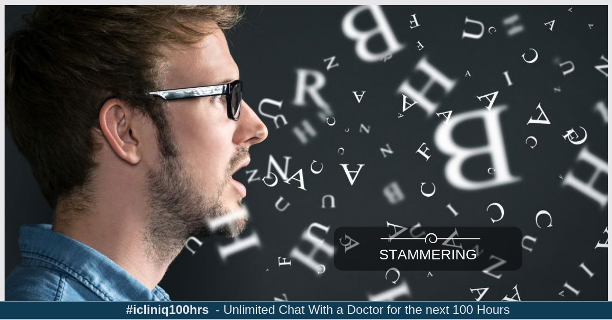 I always stammer while speaking. Please guide me.